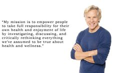 Mark Sisson, author of 'The Primal Blueprint' and the amazing site marksdailyapple.com.  Grok on!