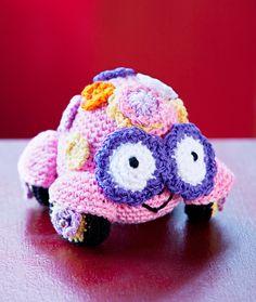 Love Bug Amigurumi - free crochet pattern