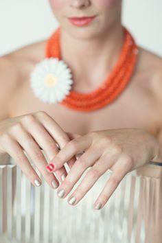 sassi stripe, shore necklac
