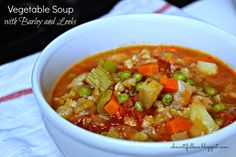 A Bountiful Love: Vegetable Soup with Barley and Leeks