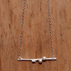 Pearls On A Branch Necklace now featured on Fab.