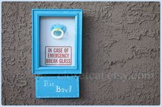 Its a Boy OR Its a Girl - Emergency Kit -  New moms gifts Baby Boy Baby Girl Baby Shower gift Funny baby New parents gift Mothers day. $23.00, via Etsy.