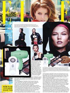 Karlie Kloss loves the Harry Josh Blow Dryer!- Elle, July 2014