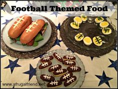 Football Themed Food