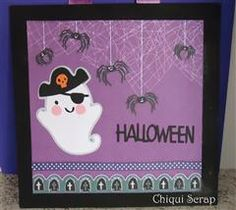 #Cricut Howdy Matey...me thinks it's a might fine time for ghosts and goblins!
