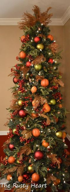Fruit Tree-perfect for the kitchen or dining room!
