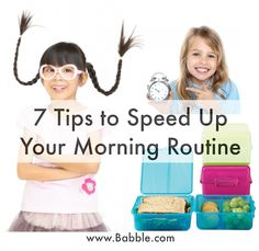 7 Simple Tips to Speed Up Your Morning Routine