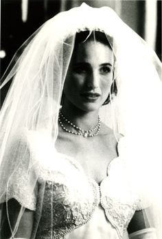Andie MacDowell in Four Weddings and A Funeral (1994)