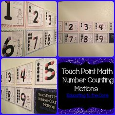 Motions for Touch Point Math! $