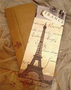 Paris themed Wedding decorations