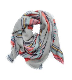 Cozy, soft, and perfect for California days that range from cool/cold to warmer. Aerie Blanket Scarf