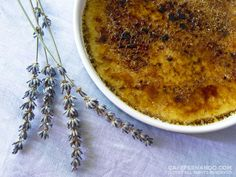 yeah, this sounds good...Lavender Creme Brulee