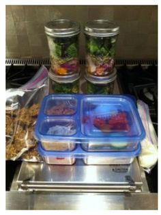 Sunday Night Prep To Eat Clean All Week...good tips!