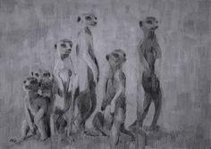 (SOLD) #46 Meerkat