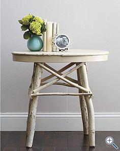 Twig Furniture on Pinterest | Driftwood Chandelier, Driftwood Mirror ...