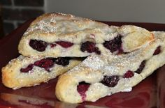 Blackberry  Raspberry Scones for my brunch menu - TodaysMama.com