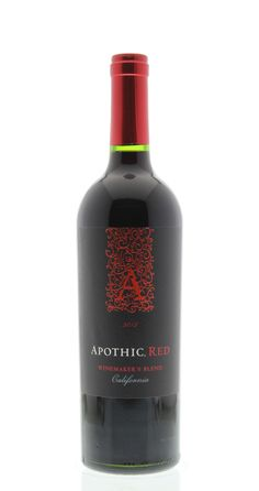 Apothic Red Blend 2012