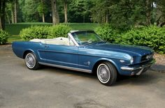 1964 Ford Mustang...me want!!