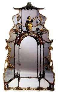 Chinoiserie Mirror, 1760.