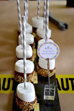 Real Party - Construction Birthday Party: The Food | Not Just A Mommy!