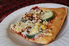Garden Veggie Crescent Pizza