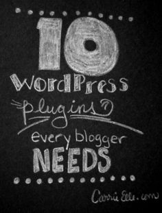 wordpress plugins for bloggers