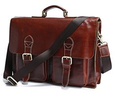 Superior Leather Briefcase.