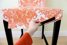 Orange You Glad? Oilcloth Chairs | MADE