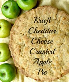 Apple Pie with Cheddar Cheese Crust Recipe http://madamedeals.com/apple-pie-with-cheddar-cheese-crust-recipe/ #recipes #applepie #inspireothers