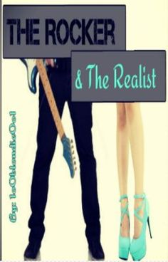 """Read my newest story with the cover designed by yours truly! :) """"The Rocker and the Realist"""" #wattpad  Follow me: 1o0blondie0o1"""