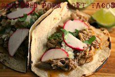 Comfy Cuisine: Shredded Pork Soft Tacos #CrockPot