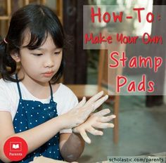 Stamps are fun #craft items, but when the ink pads dry up, so can stamp time. Our #LearningToolkit blog shows you how to make your own stamp pads to extend the fun. Click for details.