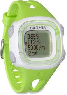 Garmin Forerunner 10. In black or red and it'd be a perfect gift for the hubby!