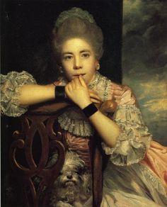 1771 Joshua Reynolds. Mrs Abington