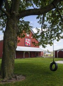 Eash Farm, LaGrange County, IN tour