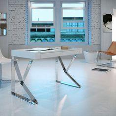 Houston Desk White now featured on Fab.