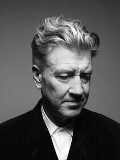 Portrait of David Lynch by Nicolas Guerin via Free York