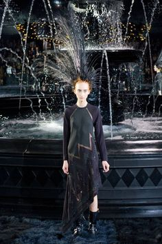 On the catwalk at Louis Vuitton Spring-Summer 2014 Fashion Show #PFW #RTW #SS14 #Louis Vuitton #LV #LVMH via elle.com