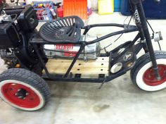 Diesel powered mini bike (Tote Gote)