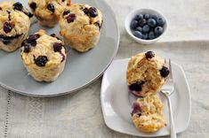 12 Tomatoes Breakfast Recipe: Blueberry Oatmeal Muffins  For breakfast recently, I was torn between a good muffin, or simply making some ...