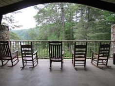 There's no such thing as too many rocking chairs