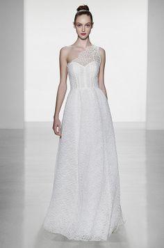 Amsale, Fall 2014 wedding dressses, bridal, weddings, gowns, ideasdressesveilsand shoe, one shoulder, fall 2014, bride, amsal gown