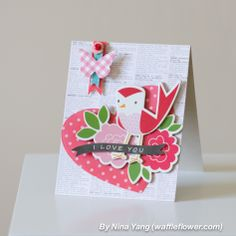 Birdie I love You Card