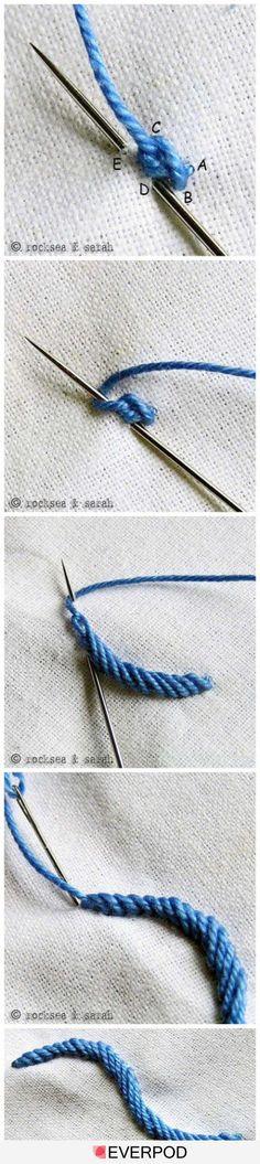 Mas tecnicas de bordado