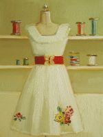 Janet Hill 'Curtsy Dress'