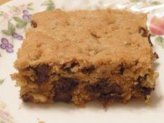 Peanut Butter Chocolate Chip Bars - The Gluten-Free Homemaker