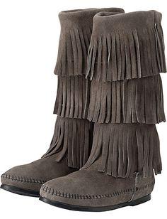 Minnetonka Fringe Boot from #HannaAndersson.