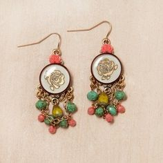 Rosetta Stone Earrings now featured on Fab.