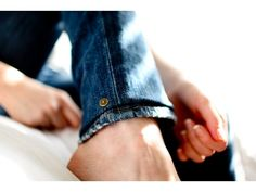 Hem Gems - Shorten Jeans with a Temporary Hem