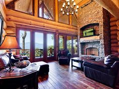 ohh lots of ideas for our mountain house...